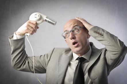 Man drying head image via Shutterstock