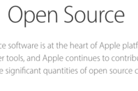 Apple's open source statement
