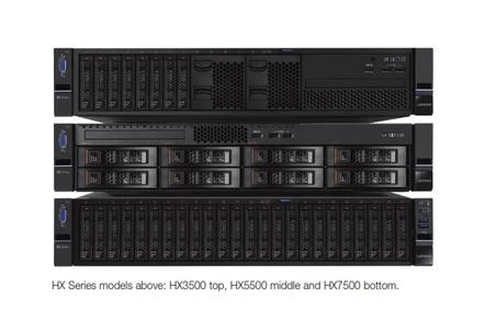 Lenovo's HX series of hyperconverged appliances