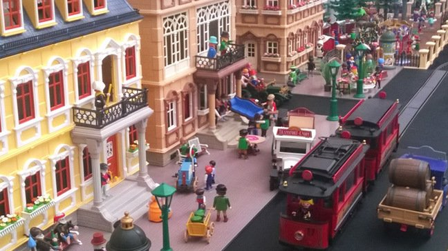 The Playmobil French town