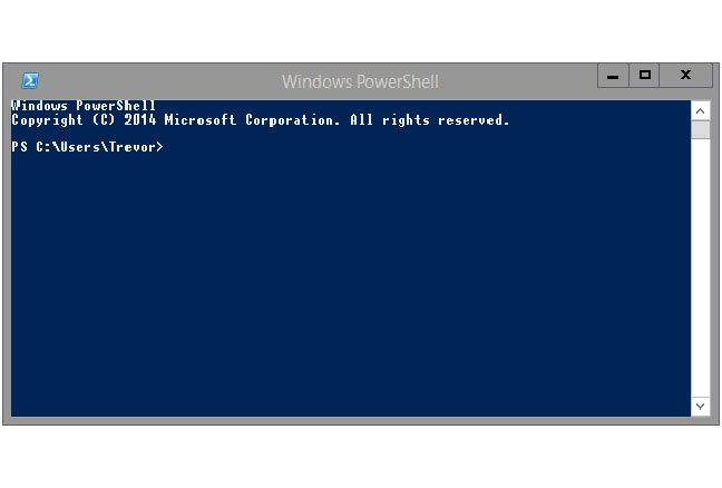 Microsoft's cmd.exe deposed by PowerShell in Windows 10 preview