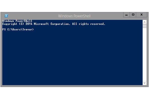Microsoft's cmd exe deposed by PowerShell in Windows 10
