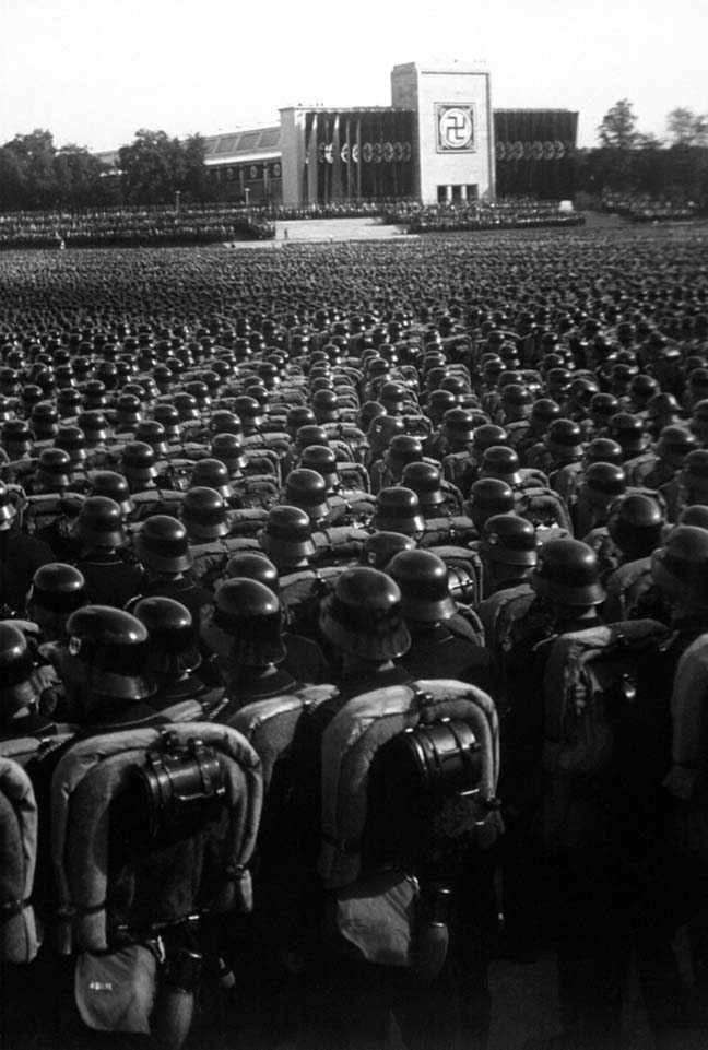 Nuremberg rally, photo Everett Historical via Shutterstock