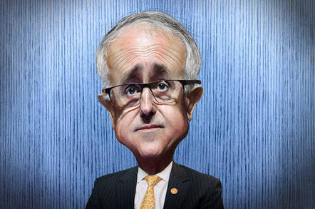 Malcolm Turnbull - Caricature  Malcolm Bligh Turnbull , aka Malcolm Turnbull, is the 29th Prime Minister of Australia and Leader of the Liberal Party.   This caricature of Malcolm Turnbull was adapted from a Creative Commons licensed photo by Veni Markovski available via Wikimedia. The body was adapted from a Creative Commons licensed photo fromITU Pictures's Flickr photostream. by https://www.flickr.com/photos/donkeyhotey/ cc 2.0 attribution sharealike generic https://creativecommons.org/licenses/by-sa/2.0/
