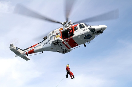 Search and rescue image from Lledo via Shutterstock