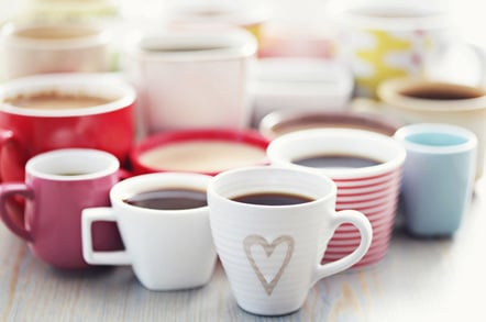 Coffee cups image via Shutterstock