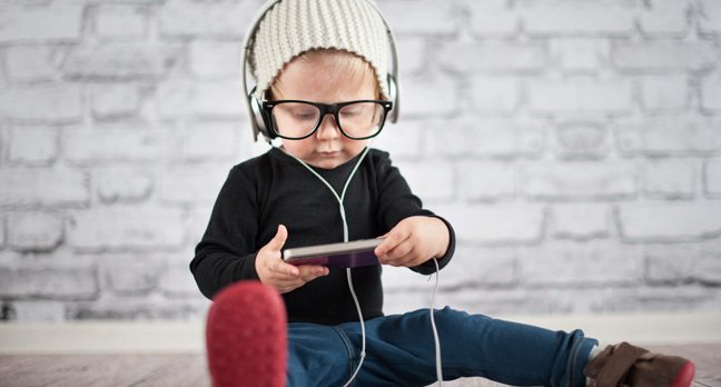 Music kid image via Shutterstock