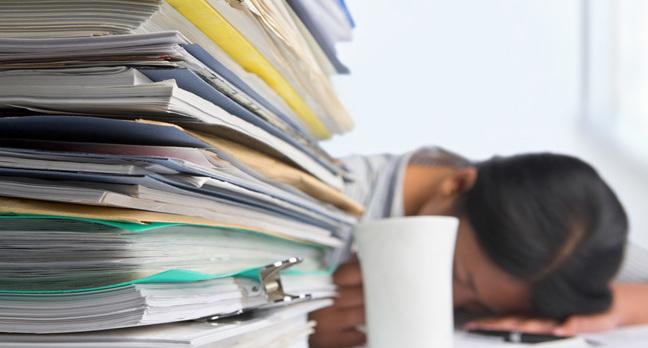 Paperwork image via Shutterstock