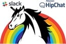 Slack, Atlassian HipChat and a Rainbow Unicorn