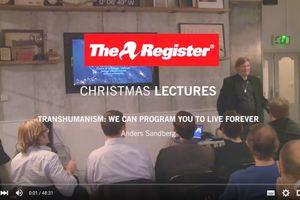 Anders Sandberg Register Lecture Opening