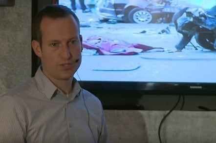 Nick Reed Delivers Reg Lecture on Driverless Cars
