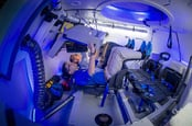 The interior of the Starliner. Pic: Boeing
