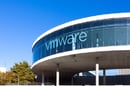 vmware sign in window of building. Pic via Shutterstock - editorial use only
