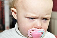 Angry baby. Pic: Luke Addison/Flickr