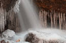 Freezing cave. Pic: Nicolas Raymond