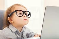 Nerd kid, image via Shutterstock