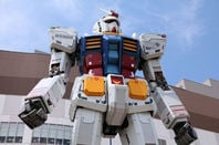 Gundam robot replica on May 11, 2012 in Tokyo. The sculpture is 18m tall and is the tallest replica of famous anime franchise robot, Gundam. Image via Shutterstock, editorial use only