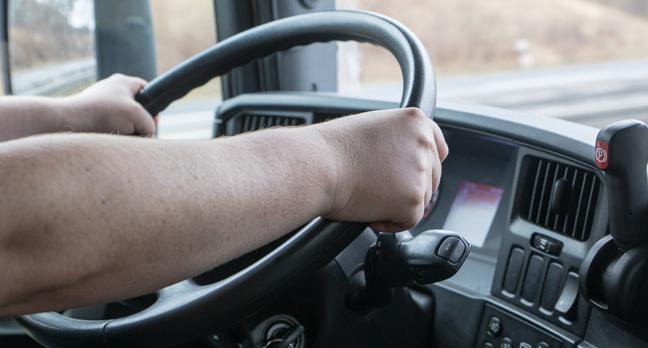 Trucker, image via Shutterstock