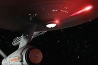 Star Trek  Enterprise using photon torpedo
