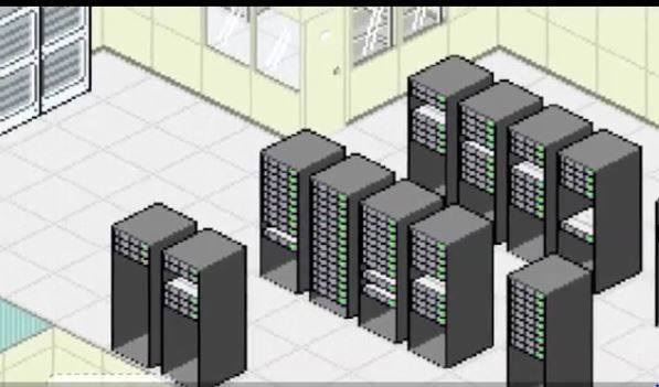Server Tycoon game shot