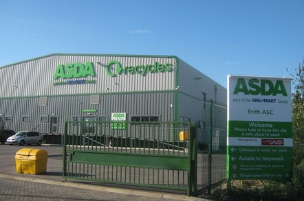 Asda Recycling Site, Belvedere On Crabtree Manorway North. Copyright David Anstiss and licensed for reuse under this CC 2.0