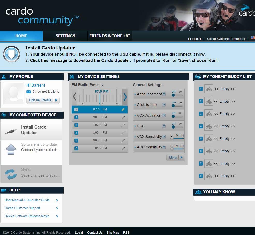 The Cardo Community