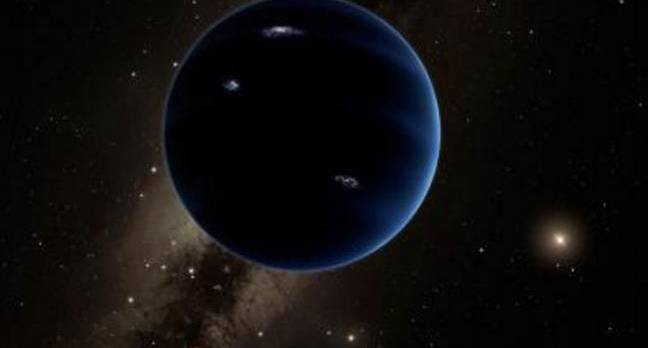 Ninth planet from the Sun
