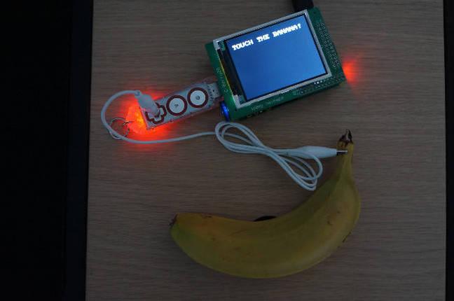 Wireless banana early version