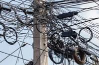Cable maze image via Shutterstock