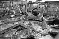 Dounreay shaft explosion copyright Dounrea Site Restoration Ltd and Nuclear Decommissioning Authority