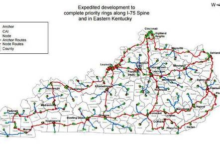 Kentucky's proposed network