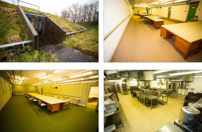 Images of the bunker. Pics: Lambert Smith Hampton
