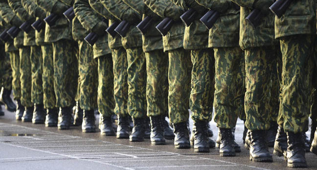 Marching, image via Shutterstock