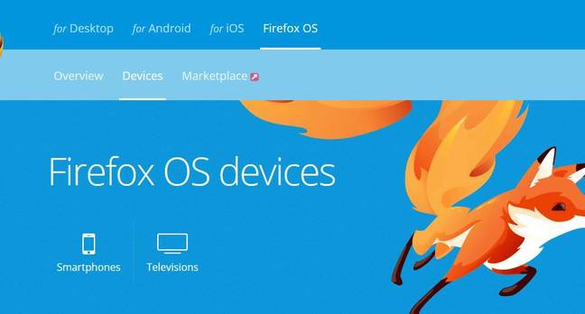 Firefox OS for smartphones is ending