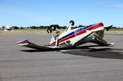 Crashed plane, photo via Shutterstock