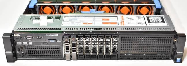 Dell Poweredge R730 front