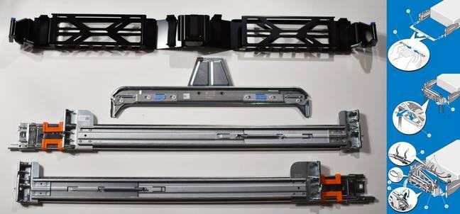 Dell Poweredge R730 railkit