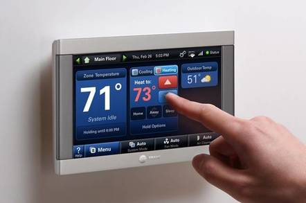 Trane thermostat is a hot spot for viruses on home networks