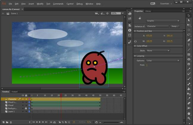 Don't mention the F word: Adobe releases Animate CC • The