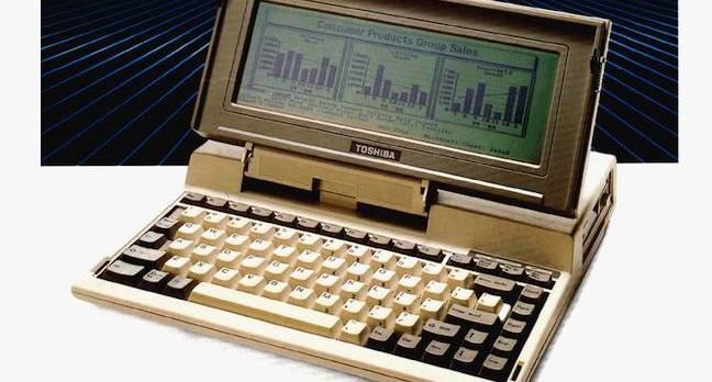 Toshiba T1000 laptop