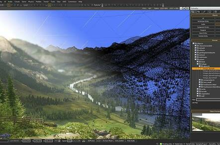 Lumberyard is a complete game development tool based on CryEngine