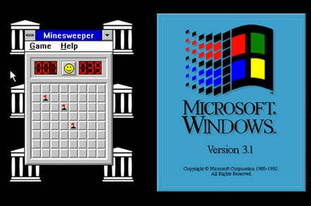GitHub given Windows 9x's awesome and so very modern look