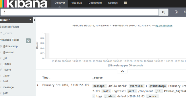 Elasticsearch cluster in a jiffy: Step by step • The Register