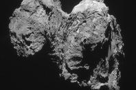 Rosetta snap of Churyumov-Gerasimenko. Pic: ESA