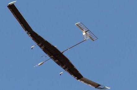 Zephyr 7 in flight
