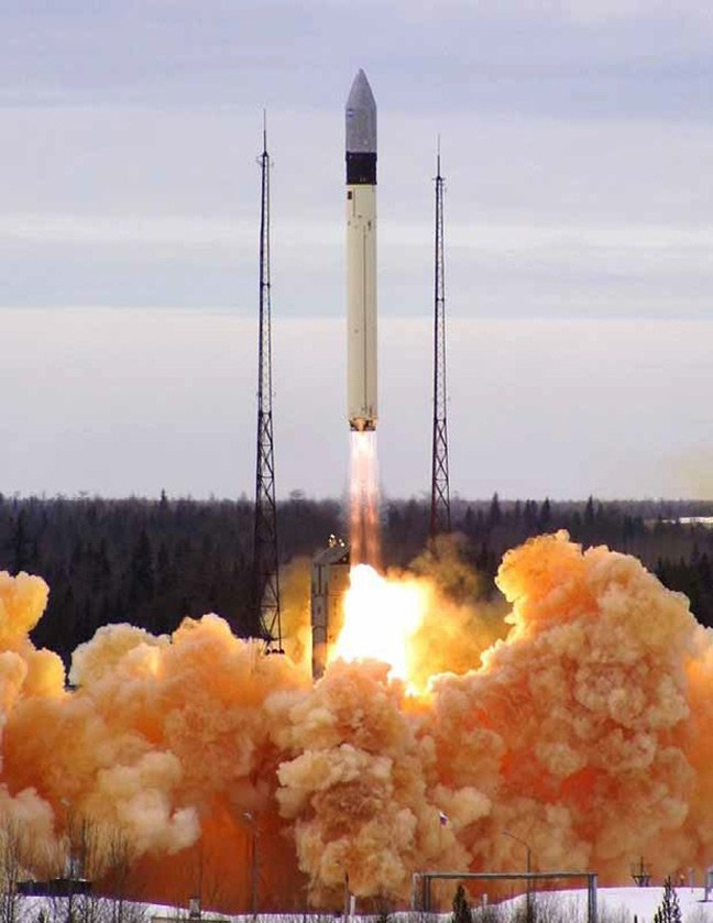 A previous Rockot launch from Plesetsk. Pic: ESA