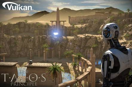 Croteam's Talos Principle is among the first games to support Vulkan