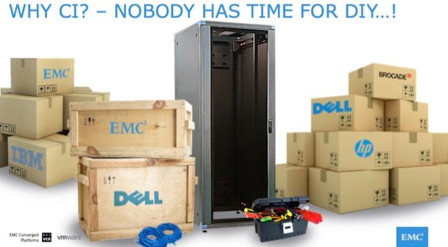 Even Dell cops a backhander from EMC