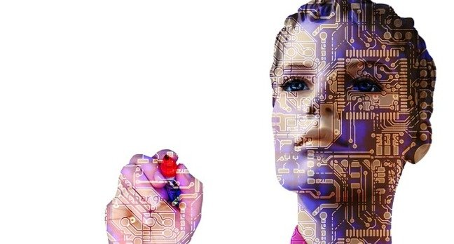 Robot AI Woman