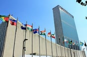 United Nations building photo Arnaldo Jr via Shutterstock